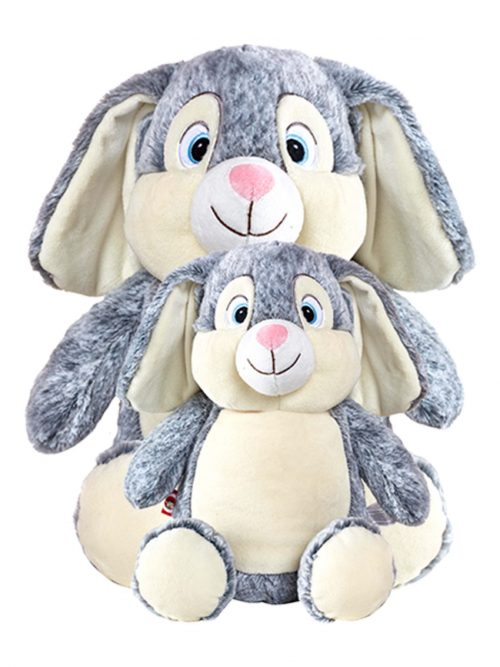 Buggz Senior the Jumbo Grey Bunny