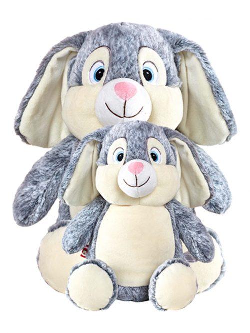 Buggz Senior the Jumbo Grey Bunny
