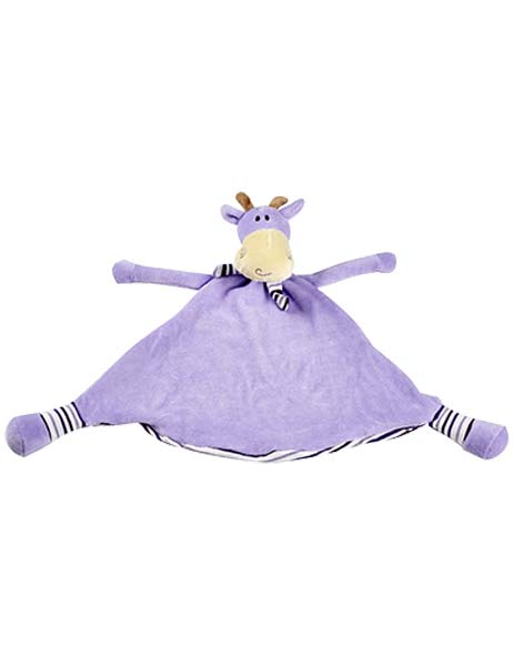 Stretch the Purple Pastel Giraffe Snuggie