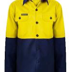 Kids Hi-Vis long sleeve shirt