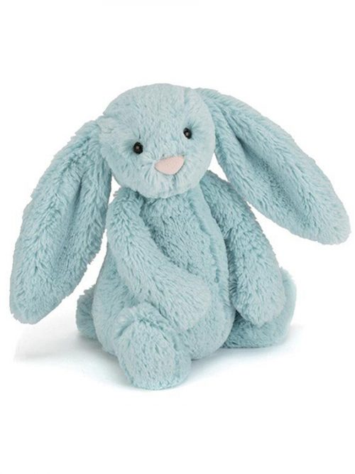 Jellycat Bashful Aqua Bunny Medium