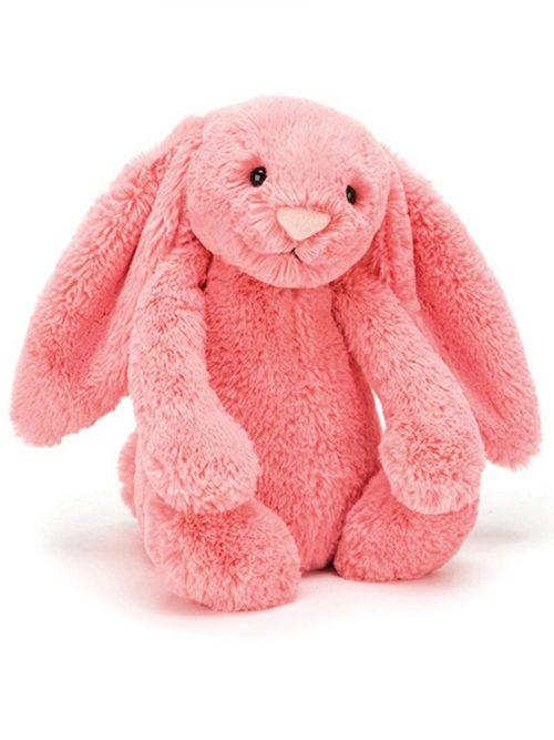 Jellycat Bashful Coral Bunny Medium