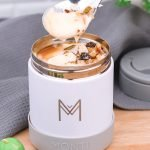 Montii Insulated Food Jar 400ml – White