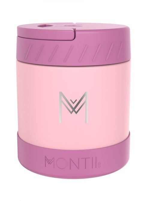 Montii Insulated Food Jar 400ml – Dusty Pink