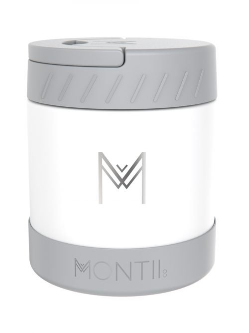 Montii Insulated Food Jar 400ml – White