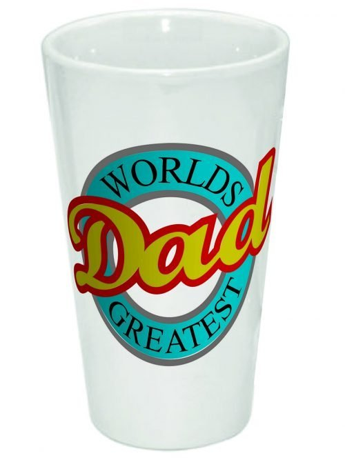 Worlds Greatest Dad 17oz Latte Mug