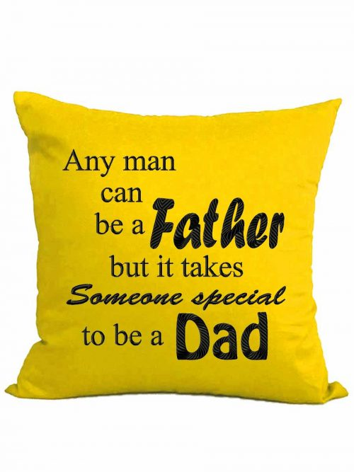 """Any Man/Woman…"" cushion + insert"