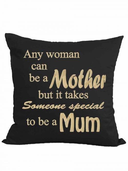 """Any Man/Woman…"" cushion + insert"
