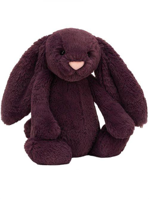 Jellycat Bashful Plum Bunny Medium
