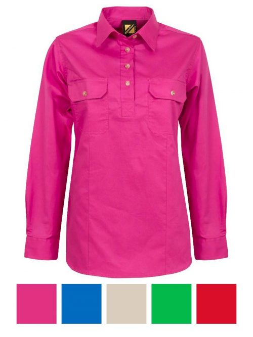 Workcraft Ladies Country Shirt – WSL505