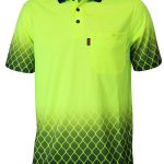 DNC Hivis Sublimated Metal Mesh Polo – 3551