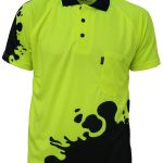 DNC Hivis Sublimated Blot Polo – 3567