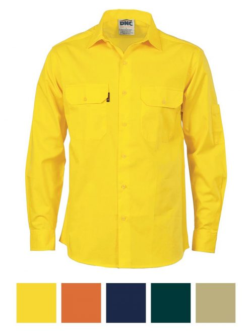 DNC Cool-Breeze Work Shirt- Long Sleeve – 3208
