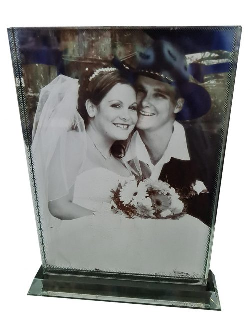 Glass Photo Block – Portrait- 18x25cm