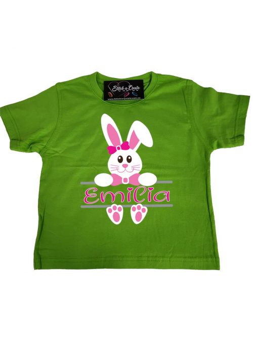 Easter Monogram T-shirt – Girls
