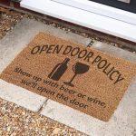 Door Mat – Open door policy