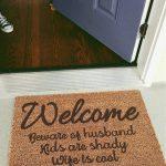 Door Mat – Husband, Kids & Wife