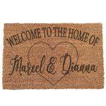 Door Mat – Welcome to the home of