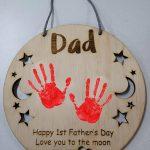Father's Day Handprint Hanger